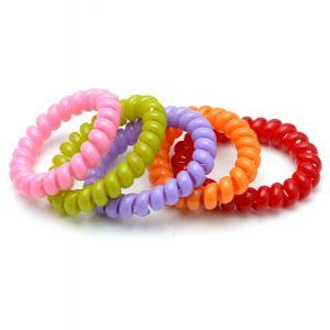 Комплект Резинок-Пружинок для волос 5 шт/уп, арт. РПВ-254 Бусики-Колечки. Цвет: разноцветный