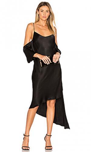 Платье giselle Backstage. Цвет: черный