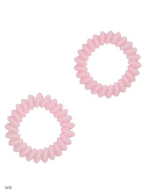 Резинки Bizon. Цвет: бледно-розовый
