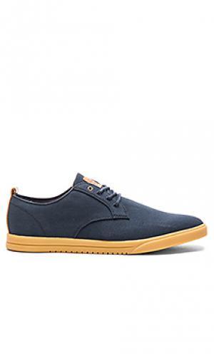 Кроссовки ellington textile Clae. Цвет: синий