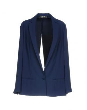 Пиджак LIST. Цвет: темно-синий