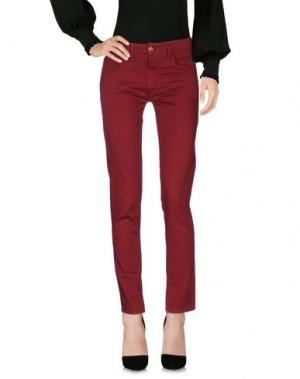 Повседневные брюки CYCLE. Цвет: кирпично-красный