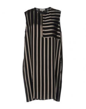 Короткое платье ANTONELLI. Цвет: черный