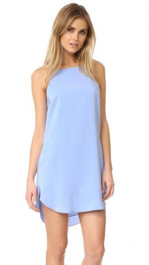 Платье с Ройа Amanda Uprichard. Цвет: английская лаванда