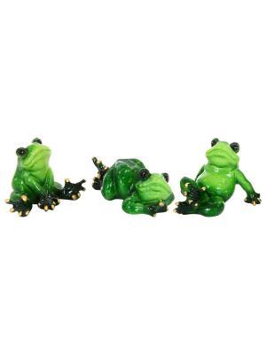 Фигурка декоративная Лягушки Elan Gallery. Цвет: зеленый