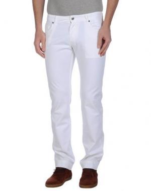 Повседневные брюки EXTE. Цвет: белый