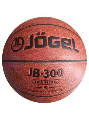 Мяч баскетбольный Jogel JB-300 №5. Цвет: коричневый