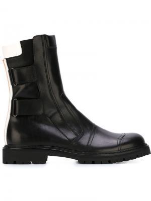 Ботинки на молнии A.F.Vandevorst. Цвет: чёрный