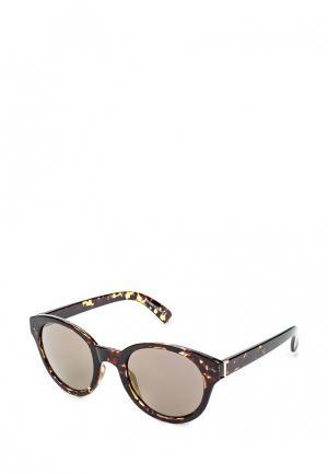 Очки солнцезащитные Topshop. Цвет: коричневый