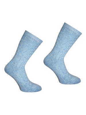 Носки, 2 пары Master Socks. Цвет: голубой