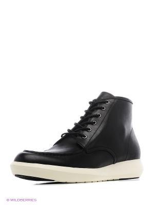 Ботинки UNITED NUDE. Цвет: черный, белый