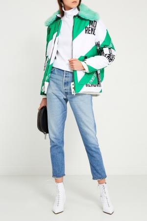 Куртка с принтом Sorry, i'm Not. Цвет: multicolor