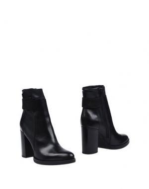 Полусапоги и высокие ботинки LEA FOSCATI. Цвет: черный