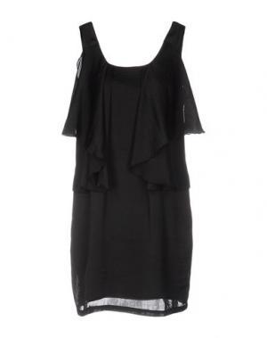 Короткое платье MARGIT BRANDT. Цвет: черный