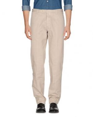 Повседневные брюки ROTASPORT. Цвет: светло-серый