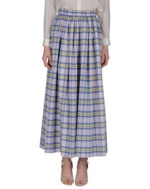 Длинная юбка ALEXANDER TEREKHOV. Цвет: сиреневый