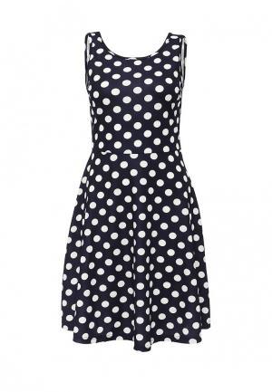 Платье LAMANIA. Цвет: черно-белый