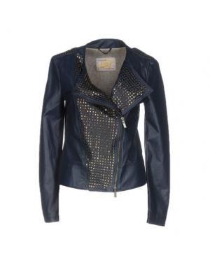 Куртка VINTAGE DE LUXE. Цвет: синий