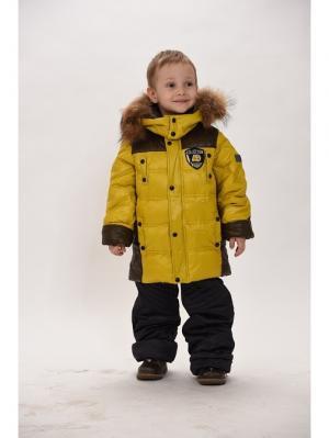 Куртка+брюки для мальчиков TOPKLAER. Цвет: зеленый, хаки