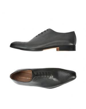 Обувь на шнурках LEONARDO PRINCIPI. Цвет: стальной серый