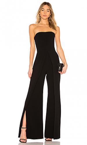 Пляжный костюм с широкими брюками carice Alexis. Цвет: черный
