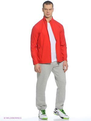 Куртка LITE-SHOW JACKET MEN ASICS. Цвет: черный, красный
