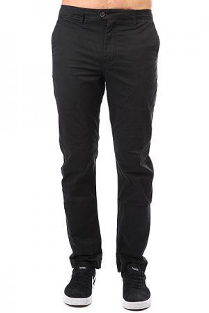 Штаны прямые  Surfpant Black Quiksilver. Цвет: черный