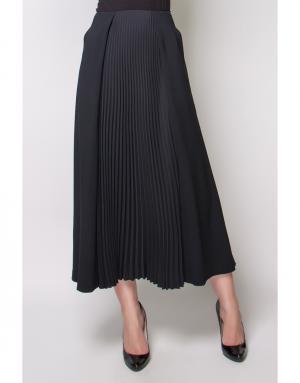 Гофрированная юбка Cedric Charlier. Цвет: черный