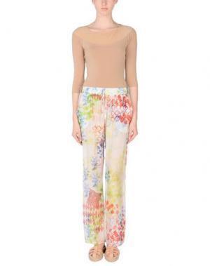 Повседневные брюки MOSAIQUE. Цвет: белый