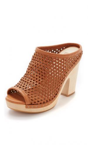 Туфли без задников Brooks Dolce Vita. Цвет: карамельный