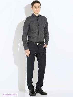 Рубашка Jack&Jones. Цвет: черный