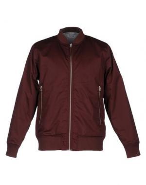 Куртка ONTOUR. Цвет: красно-коричневый