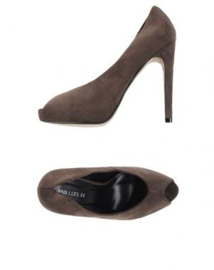 Туфли ANA LUBLIN. Цвет: свинцово-серый