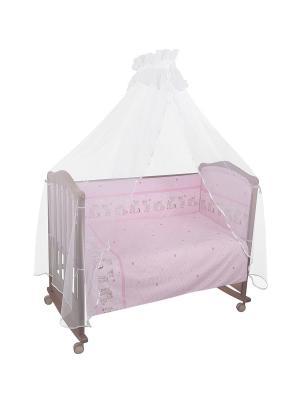 Комплект Оленята Тайна снов. Цвет: розовый