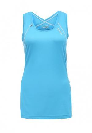 Майка спортивная Regatta. Цвет: голубой