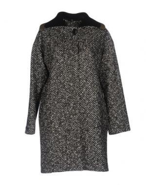 Пальто SUOLI. Цвет: черный