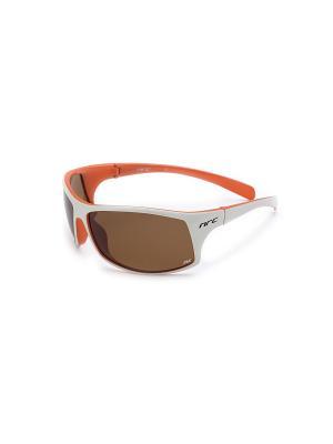 Солнцезащитные очки NRC. Цвет: белый, оранжевый