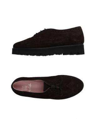 Обувь на шнурках PRETTY LOAFERS. Цвет: темно-коричневый