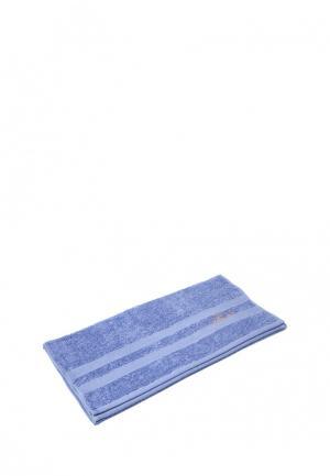 Полотенце Trussardi. Цвет: голубой