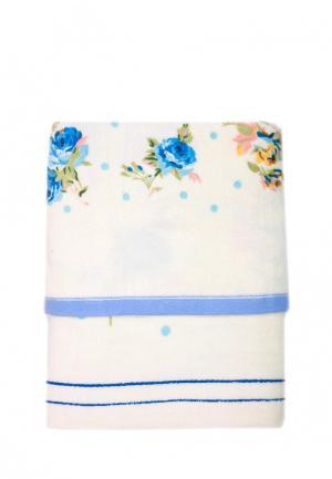 Комплект полотенец 2 шт. La Pastel. Цвет: голубой