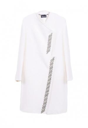 Пальто Heresis. Цвет: белый