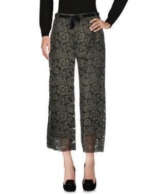 Повседневные брюки MICHELA MII. Цвет: зеленый-милитари