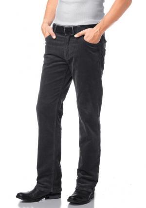 Вельветовые брюки Arizona. Цвет: оранжево-красный, цвет карри