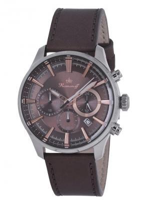 Часы наручные Romanoff. Цвет: коричневый, золотистый, серебристый