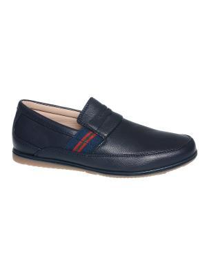 Туфли Tom&Miki. Цвет: темно-синий