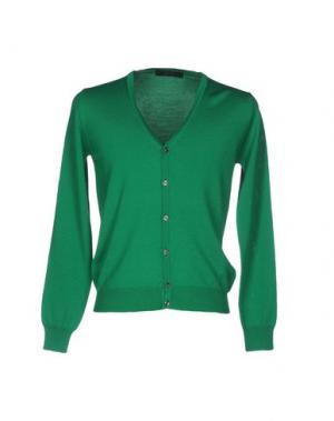 Кардиган VNECK. Цвет: зеленый