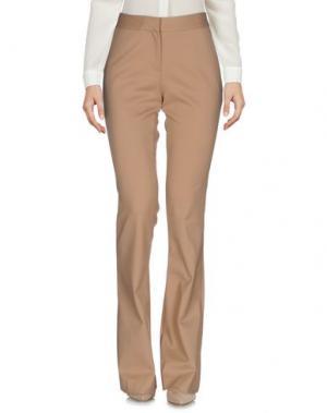 Повседневные брюки SPACE STYLE CONCEPT. Цвет: песочный