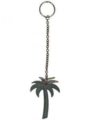 Брелок с пальмой Tomas Maier. Цвет: серый