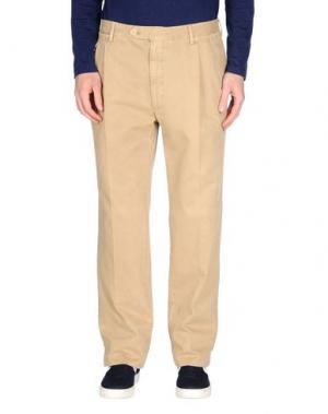 Повседневные брюки ROTASPORT. Цвет: бежевый