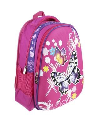 Рюкзак Olere. Цвет: розовый, белый, черный